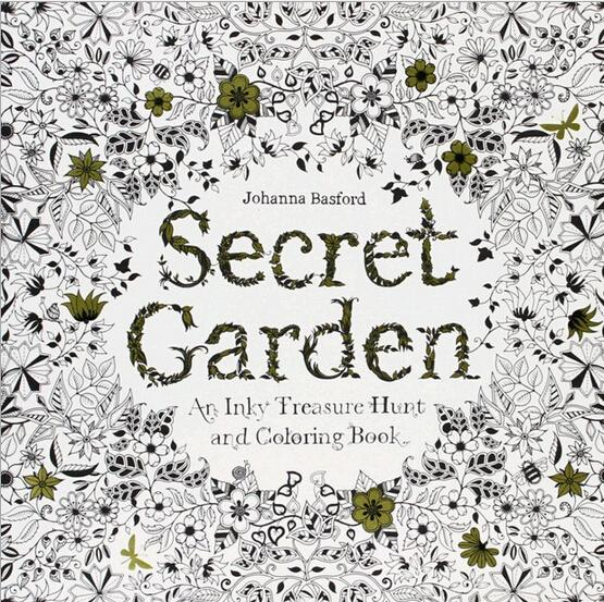 96 Pages Secret Garden Fantasy Dream Enchanted Forest Animal Kingdom Coloring Book Adult Relieve Stress Painting Baby Drawing Kids Books