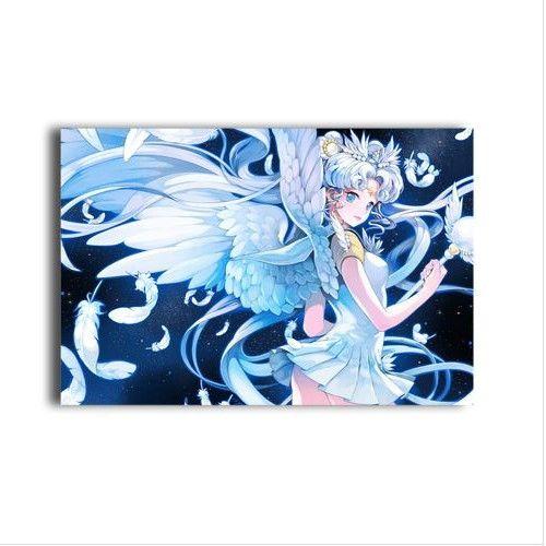 hot anime sailor moon characters sexy girl tsukino usagi & aino minako poster canvas painting