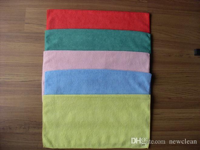High Quality Microfiber Cleaning Towel Car Washing Nano Cloth Dishcloth Bathroom Clean Towels Rectangle 40x40cm