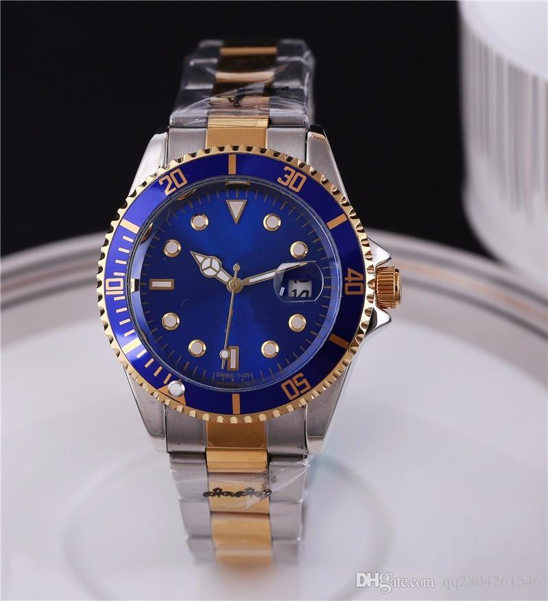 automatische Datum Luxus Mode Männer und Frauen der Stahlband Bewegung Quarzuhr Männer Uhr
