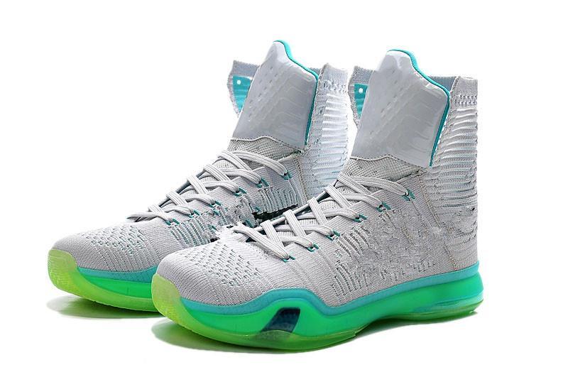Brand Kobe 10 X Elite High Elevate KB X Boy Basketball Shoes Men ... 2a33e57b1