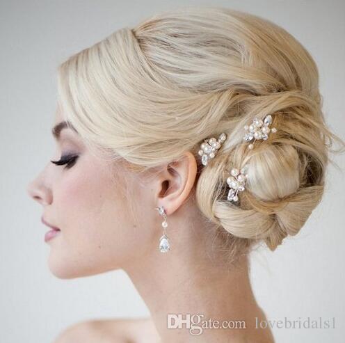 mode mariée headpieces clip perle épingle à cheveux mariage mariée bijoux accessoires studio avec usine de bijoux en gros directe