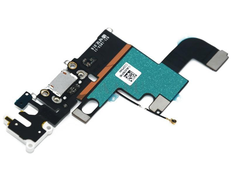 Mix For iPhone 6 6 plus 6 5 5s 6s OEM Dock Connector USB Charging Port and Headphone Audio Jack Flex Cable
