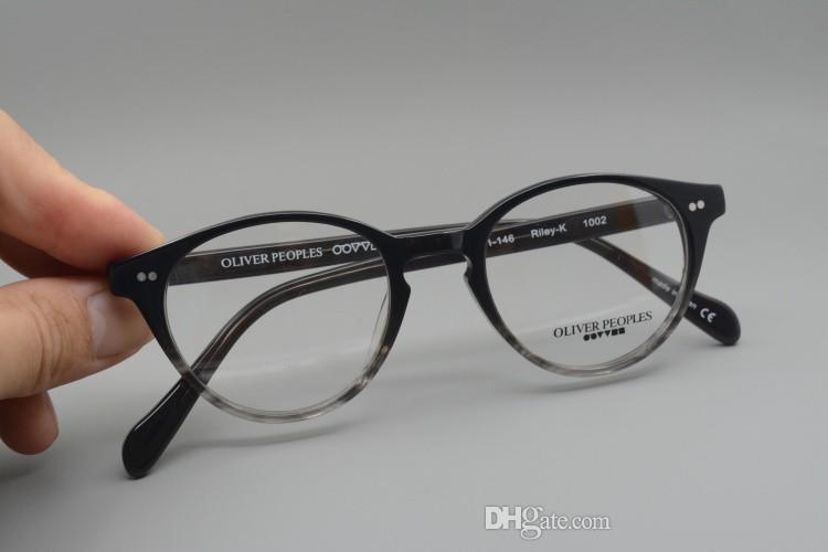 Sunglasses Frames Oliver People Riley-k plank frame glasses frame restoring ancient ways oculos de grau men women myopia eyeglasses frames