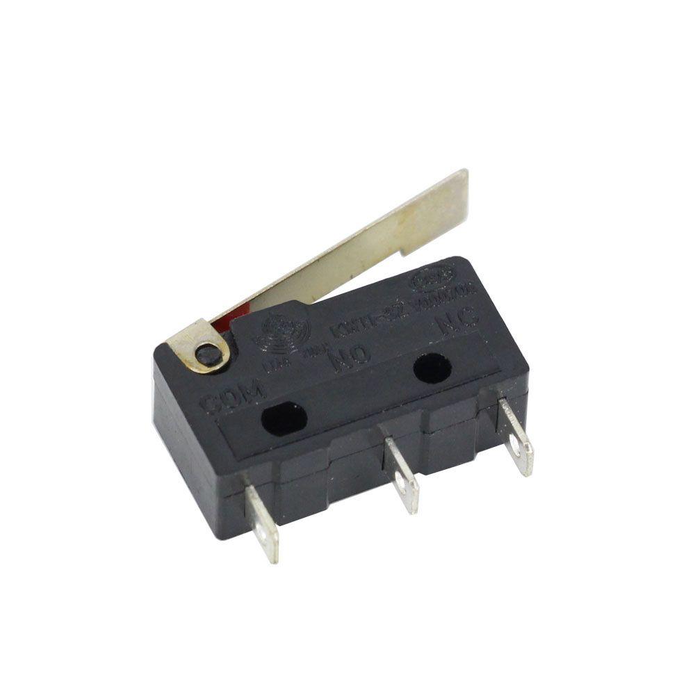 lentiga de limite, 3 pinos alça longa, n / o n / c todos os novos 5A 250Vac kw11-3z micro switch fábrica venda direta