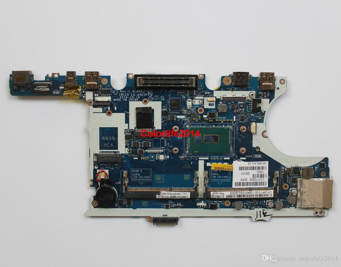 for Dell Latitude E7450 R1VJD CN-0R1VJD ZBU10 LA-A961P SR23X i5-5300U  Laptop Motherboard Mainboard Working perfect
