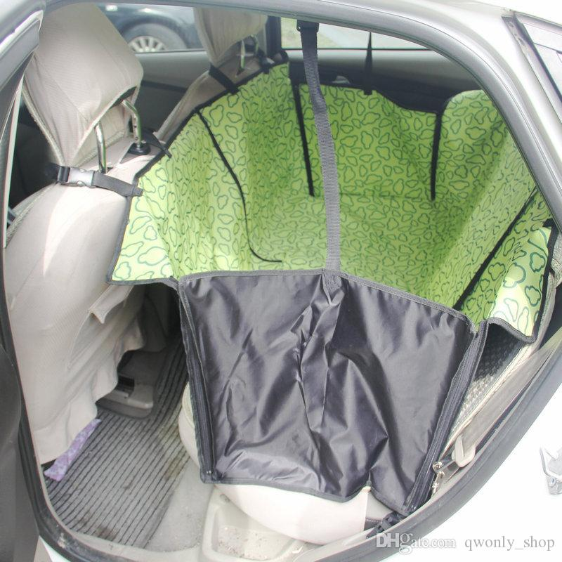 High Quality Pet Dog Cat Car Rear Back Seat Carrier Cover Pet Dog Mat Blanket Cover Mat Hammock Cushion Protector