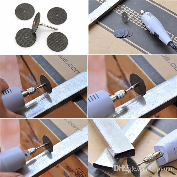 32mm Resin Cutting Disc with 3mm Shank Electric Rotary Tool Kit Cut Off Wheel