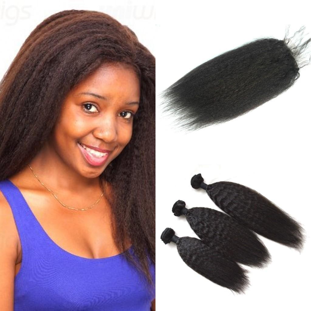 Malaysian Hair Weave Bundles With Closure 3 Hair Bundles With Silk