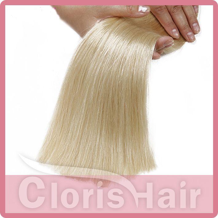Platinum Blonde Braiding Human Hair Bulk No Weft Thick Silk Straight Brazilian Hair Extensions in Bulk for Sale Cheap 613 Weave Bundles