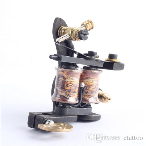 Top Selling Tattoo Machine 10 Laps Coils Handmade Tattoo Gun For Shade and Liner
