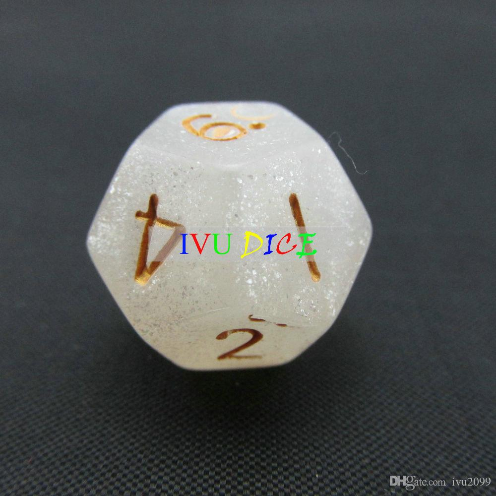 12 sided 1-12 DND D12 Table BOARD GAME Dungeons&Dragons Magic 6 six Colors bosons Party Children dices IVU