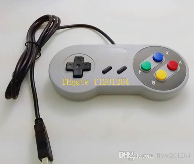 200 teile / los Klassische USB Controller PC Controller Gamepad Joypad Joystick Ersatz für Super Nintendo SF Für SNES NES Tablet PC Windows