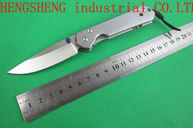 Haute qualité ! Chris Reeve Mercerisage poignée couteau de poche de chasse CR \ Camping outil de survie \ Rescure de Livraison gratuite