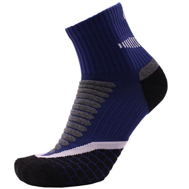 Basketball Sweat Towels: 2019 Basketball Socks Towel Bottom Men'S Sports Terry
