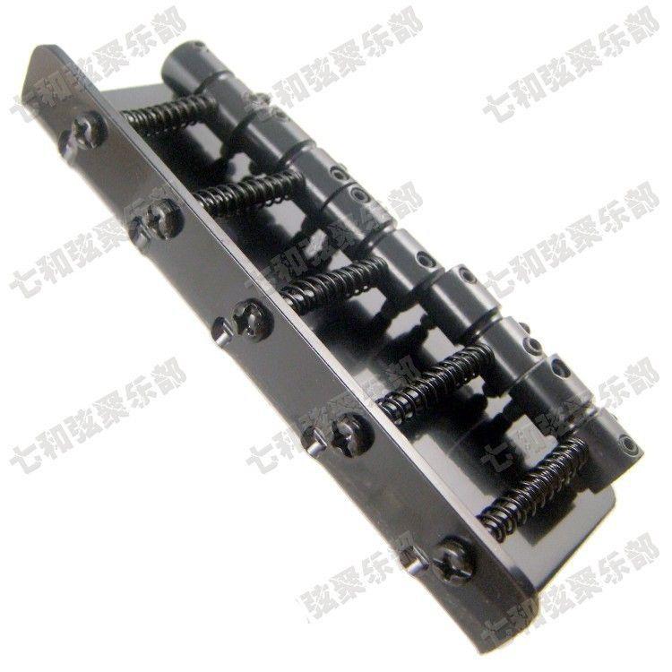 Black iron bass Chitarra elettrica Bridge 5 corde basso Parti chitarra Accessori strumenti musicali