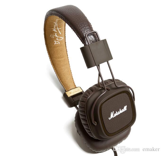 سماعات مارشال كبرى مع هيئة التصنيع العسكري العميق باس DJ هيفي سماعة هيفي سماعة DJ المهنية مراقب سماعة
