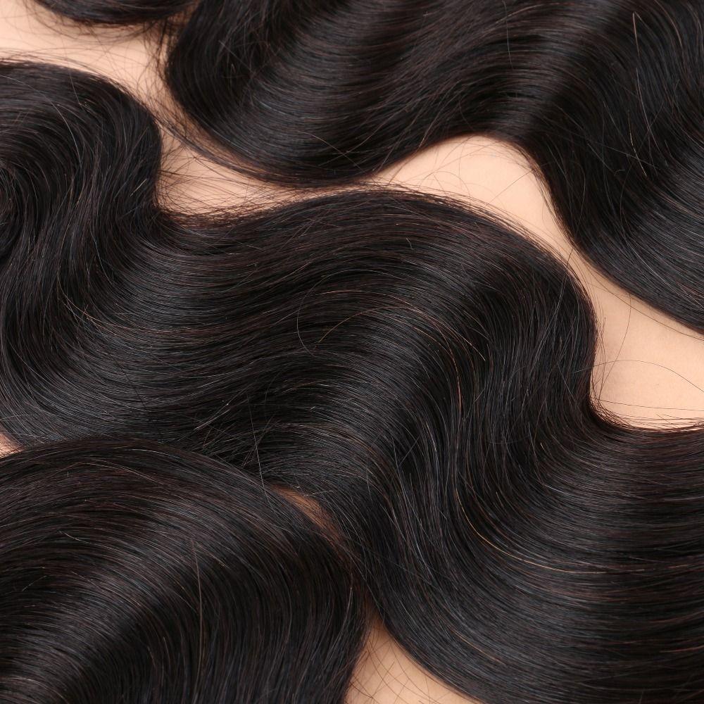 8A peruviano indiano malese capelli brasiliani bundles non trasformati capelli umani tessuto e chiusura brasiliana estensioni dei capelli dell'onda del corpo