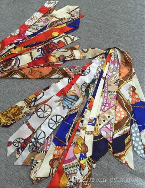 Taschen scraf Schals Seide Großhandel Hüte Griff Handschuhe Wraps Hochzeit Muffler Mappengeldbeutel Seide Handtasche Frauen Tasche Paris Schulter Tote Gepäck