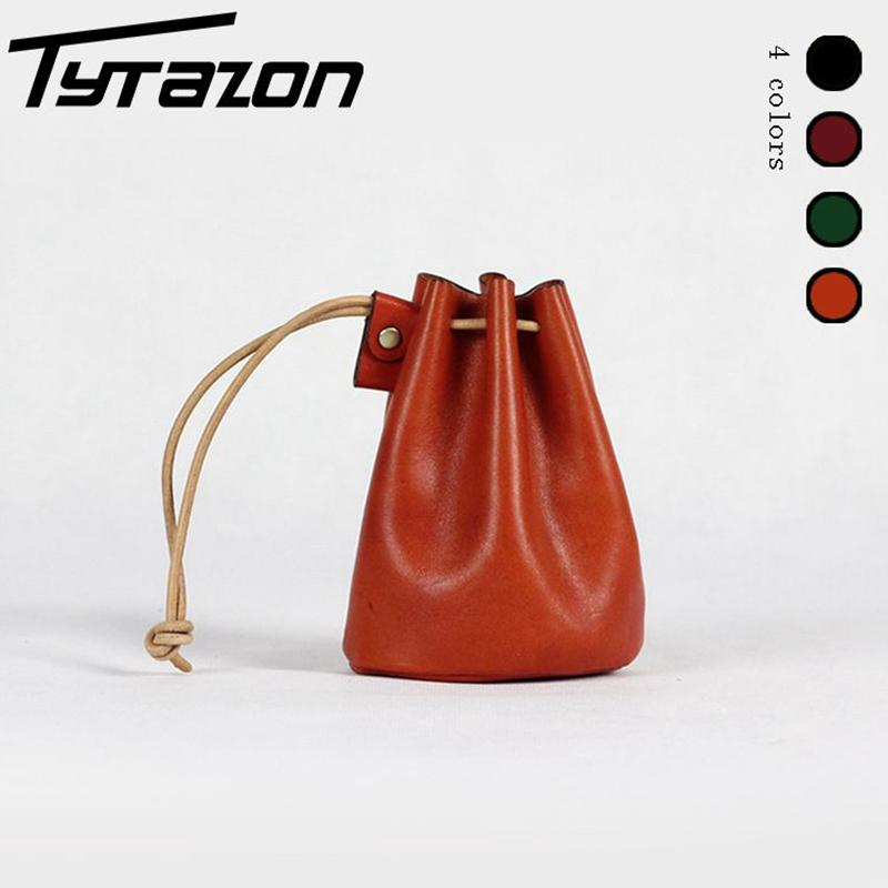 Wholesale TyTazon Brand New Handmade Genuine Full Grain Tanned Leather  Drawstring Bag Small Pouch String Coin Purse Holder Backpack Purses Bags  For Sale ... f7630d82458f1