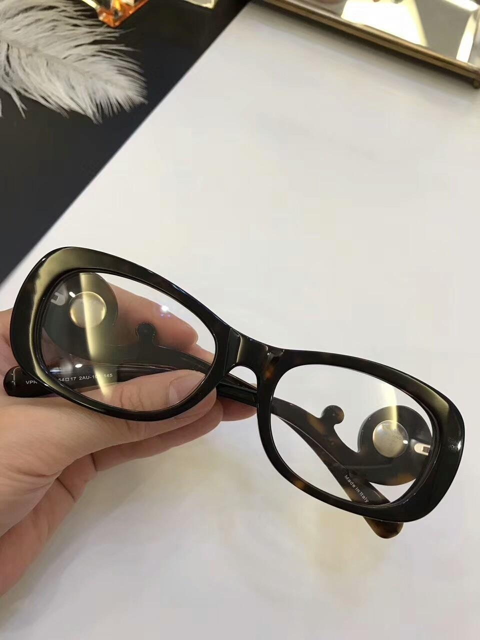 VPR 10QV óculos de armação clara lente de designer óculos óculos estilo design de moda de diamantes mulheres Handmade óculos de marca de quadro