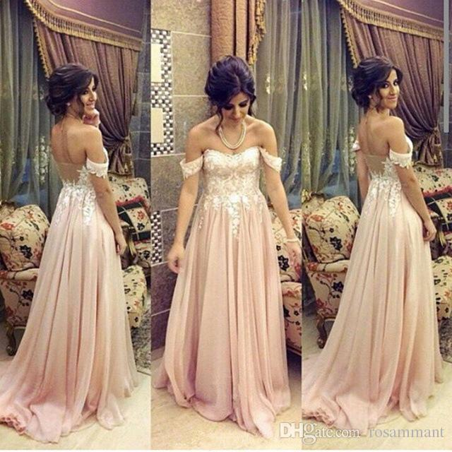 New Stunning Prom Dress pink prom gowns long evening gowns for teens Custom Made