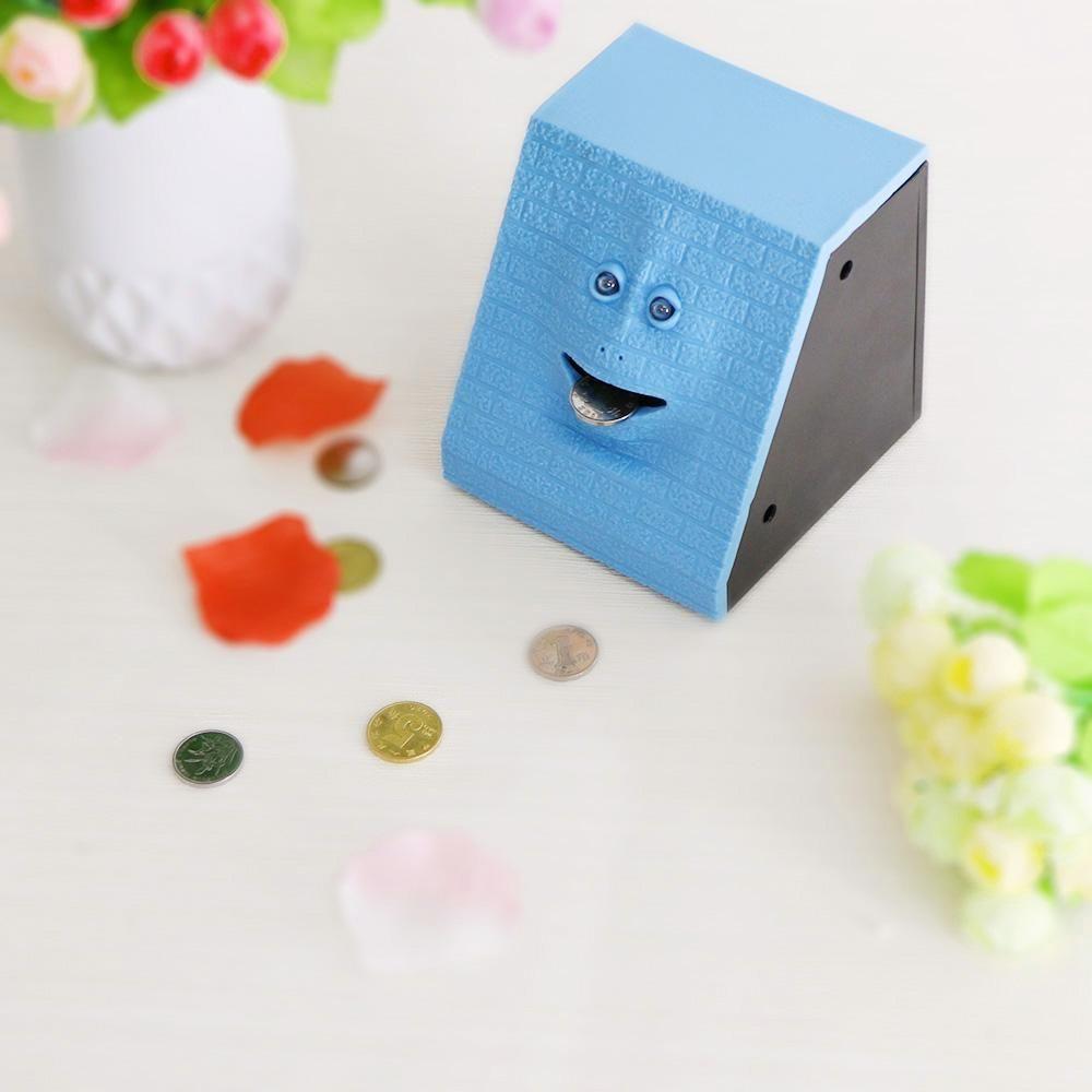 NEW Hot Selling Tile Face Cute Face Bank FaceMoney Box Sensor Coin ...