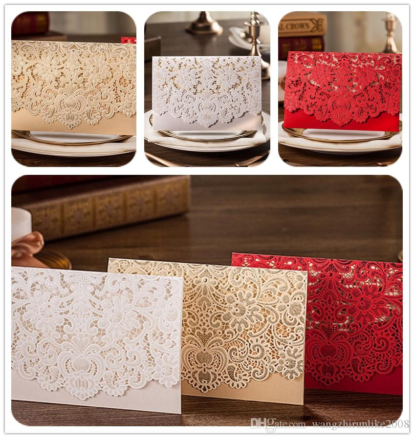 2017 Hot Selling Wholesale Personalized Wedding Invitation Cards ...