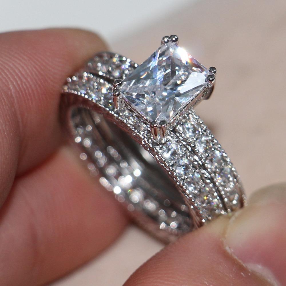 2017 victoria wieck vintage genuine 4ct topaz simulated diamond