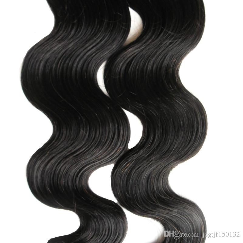 100g Brazilian Body Wave Hair Tape Colors Remy Hair Extension Tape Adhesive Jet Black tape in human hair extensions