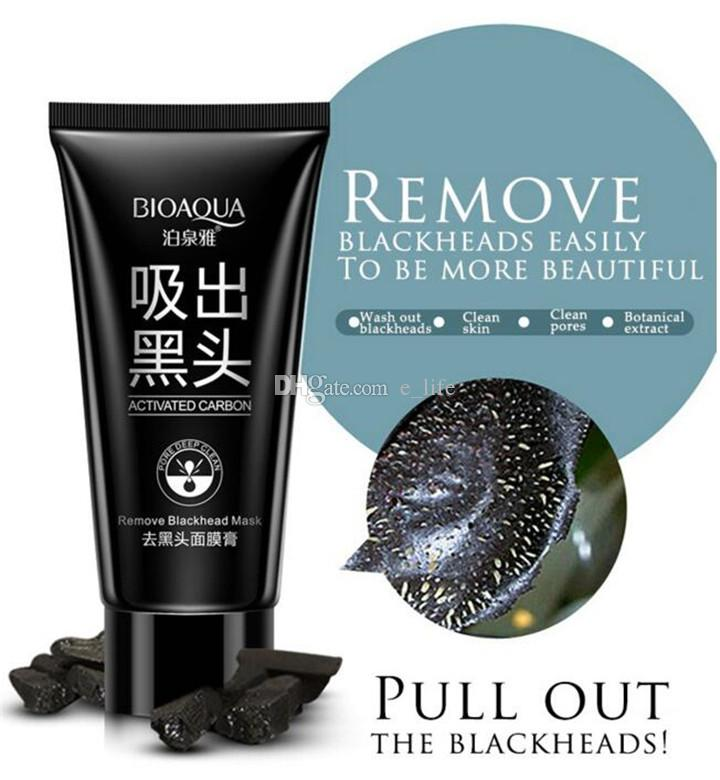 BIOAQUA blackhead black Face mask Black Mask Facial Mask Nose Blackhead Remover Peeling Peel Off Black Head Acne Treatments DHL FREE