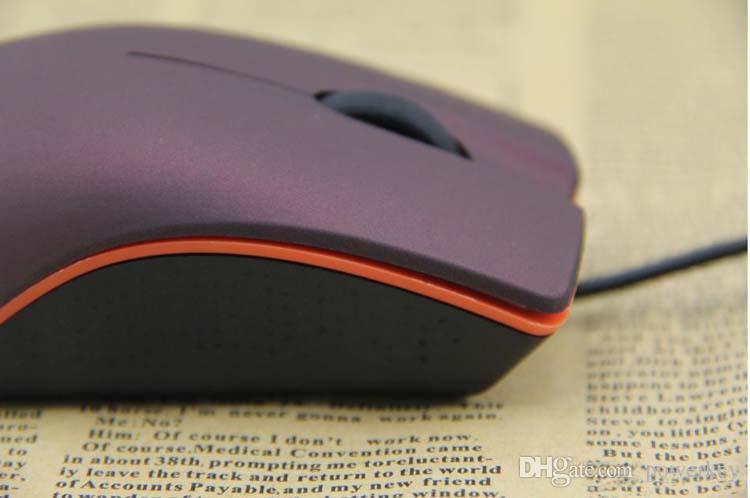 Rato Óptico USB Mini 3D Com Fio Gaming Ratos Com Caixa de Varejo Para Computador Portátil Notebook Jogo Lenovo M20 Fedex DHL