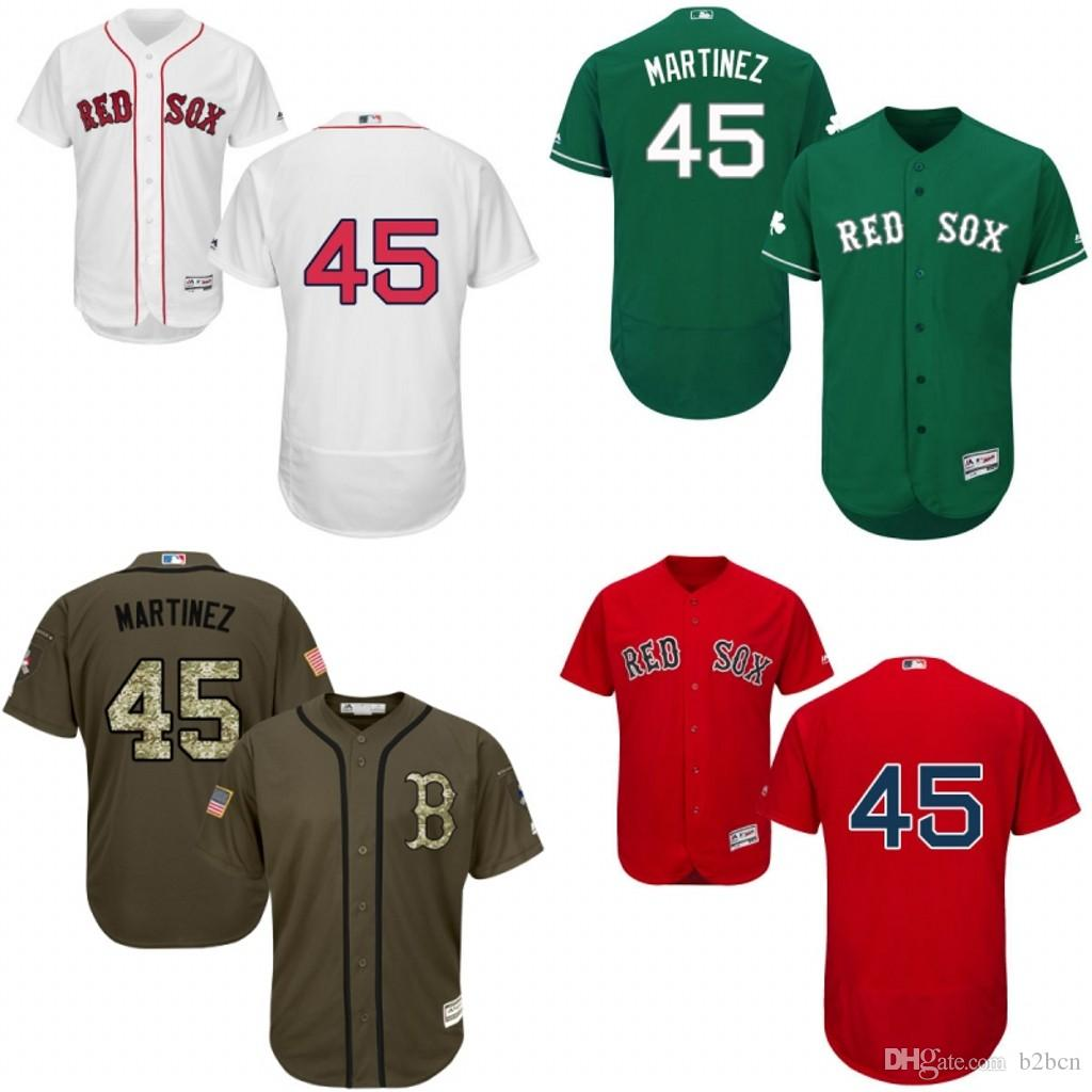 399c71a9f ... MLB Jersey 2017 Green Blue Grey White Red Celtic Pedro Martinez  Authentic Jersey , MenS 45 Majestic Boston Boston Red Sox Pedro Martinez  Official ...