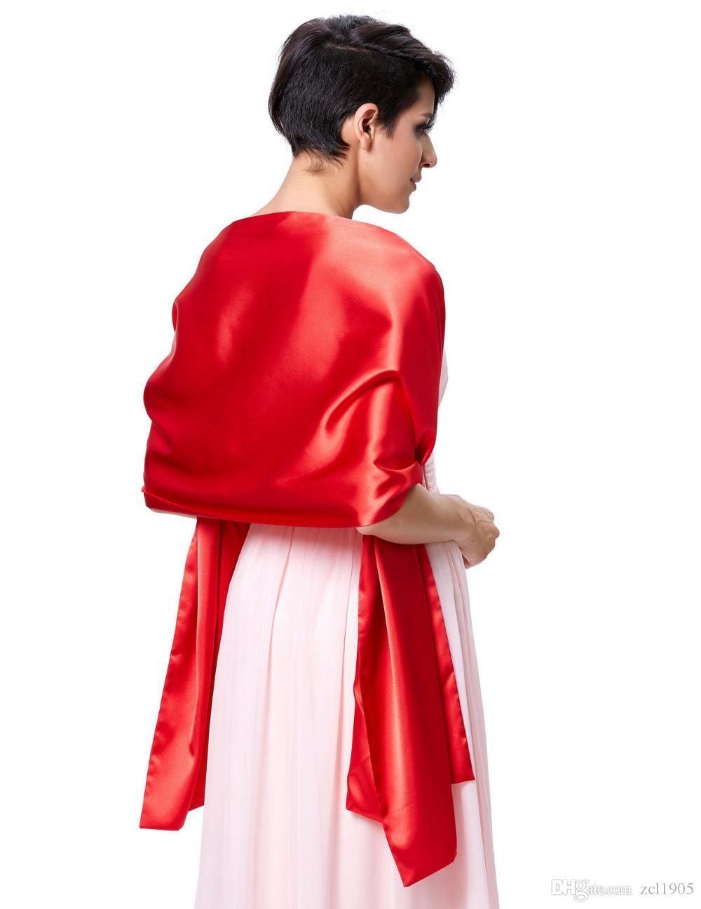 Fashion Classic Bridal Wraps 2016 Black Red Purple Champagne White Wedding Shawl Wedding Accessories Bolero Bridal Jacket