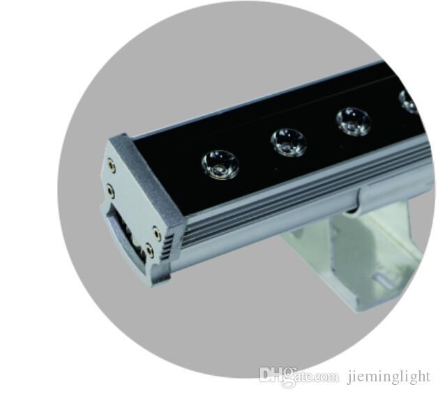 Applique da parete in alluminio da 24W con applique da parete esterni, applique da parete con luce a LED
