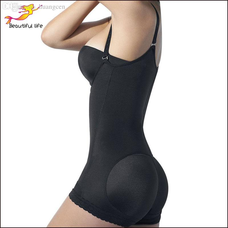 e739e5ec2 2019 Wholesale Women Butt Lifter With Tummy Control Latex Body Shaperwear  Underbust Corset Black Latex Vest Corsetto Bustier Corpete Lingerie From  Huangcen