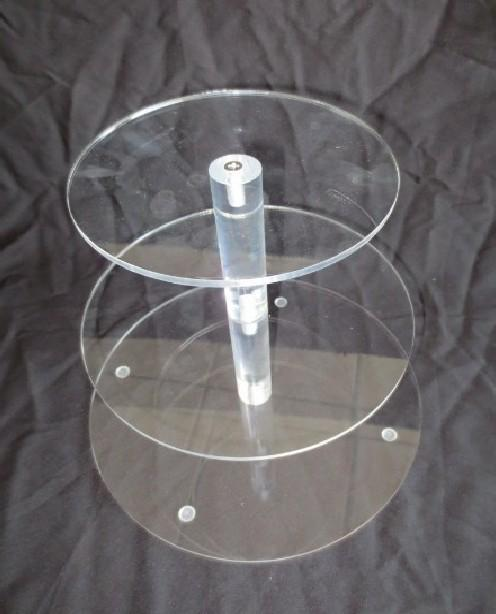 3 layer acrylic cupcake stand round cake stands for wedding party cake display decoration 3 tier cupcake holder from dhgatecom