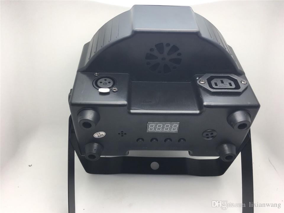 12p جيم 12x12W + flightcase + 1.2M كابل DMX LED شقة SlimPar رباعية ضوء LED 4IN1 DJ غسل ضوء المرحلة DMX ضوء مصباح 4/8 channes