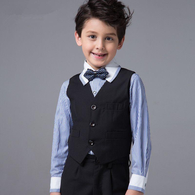 Acquista 2016 The Boy Suit Gilet Suit Of England Gilet Grigio Baby Boys  Charcoal Abiti Ragazzi Matrimonio Bambini Show Ragazzi Camicia Ragazzi  Blazer Suit A ... af46c3c951b