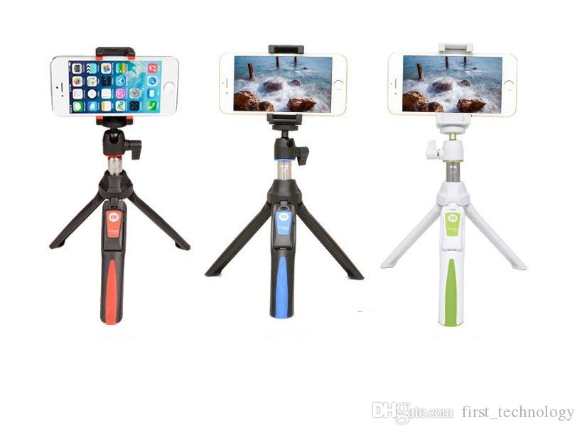 Fashion Foldable Selfie Stick Self Bluetooth Selfie Stick Tripod Bluetooth Shutter Remote Controller for iPhone/Android Phone