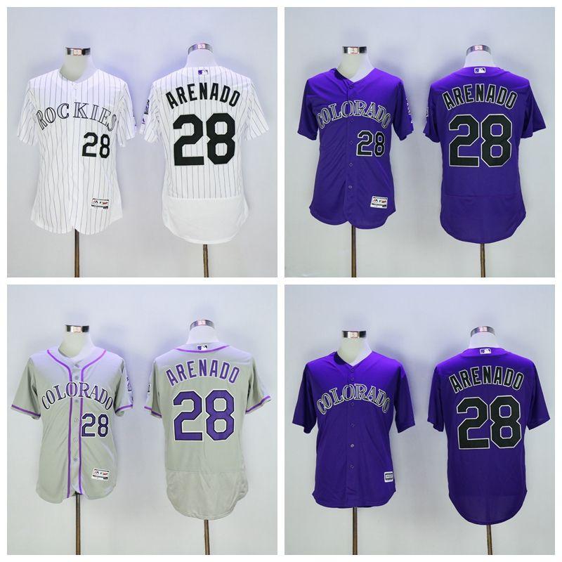 458638ecf ... mlb majestic flex cheapest 2017 new flexbase 28 nolan arenado jersey  baseball colorado rockies jerseys cheap fashion stitched cool ...