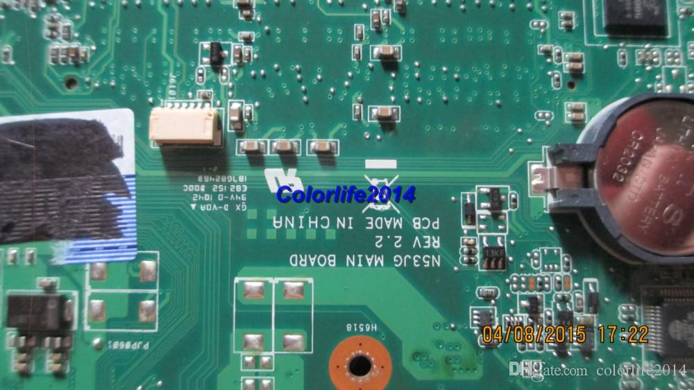 for Asus N53JQ N53JG REV:2.2 4 RAM slots laptop motherboard mainboard/system boardfully tested & working perfect