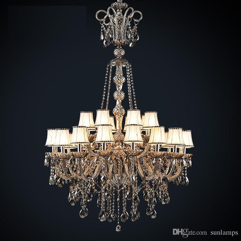купить оптом Led античный отель церковь люстра кристалл освещение