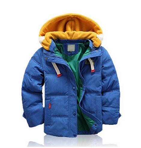 e9822d771bbd Children Jackets For Boys Girls Winter White Duck Down Jacket Coats Kids  Hooded Parkas Child Coat free shipping