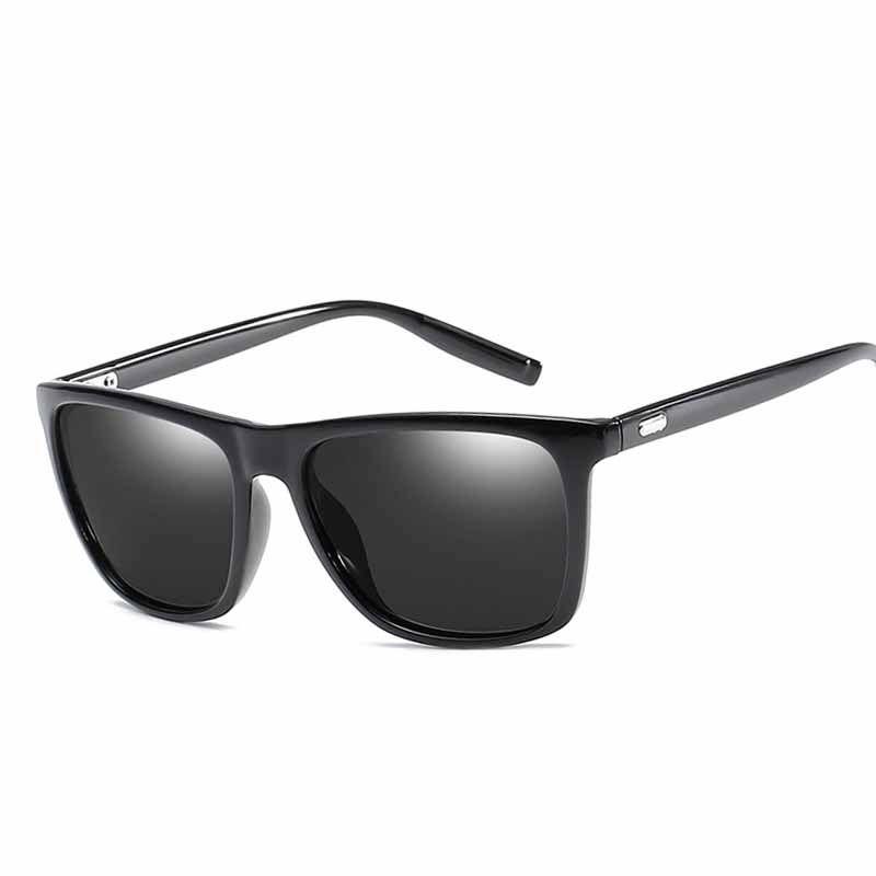8cbc4157e5f7 New Fashion Sunglasses Men Polarized Sunglasses Men Driving Mirrors Coating  Points Black Frame Eyewear Male Sun Glasses UV400 VE0139 Bifocal Sunglasses  ...