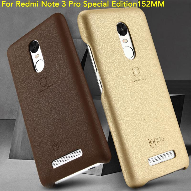 best sneakers efd32 4f601 Wholesale- Lenuo Case for XiaoMi Redmi Note 3 PRO Special Edition (152mm)  5.5 inch Phone Bag Cover for Redmi Note 3 PRO Special Edition