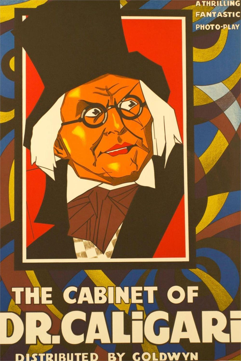 The Cabinet Of Dr. Caligari1920 Horror Movie Classic Poster Home ...