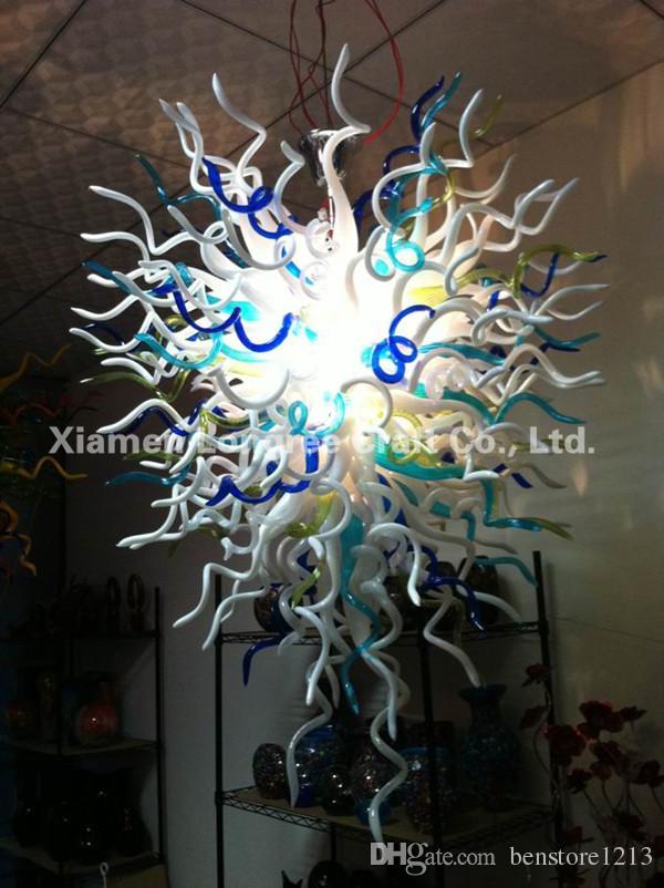 C13-Новые продукты CE / UL LED выдувное стекло старинные подвесные светильники из муранского стекла люстры подвесные светильники