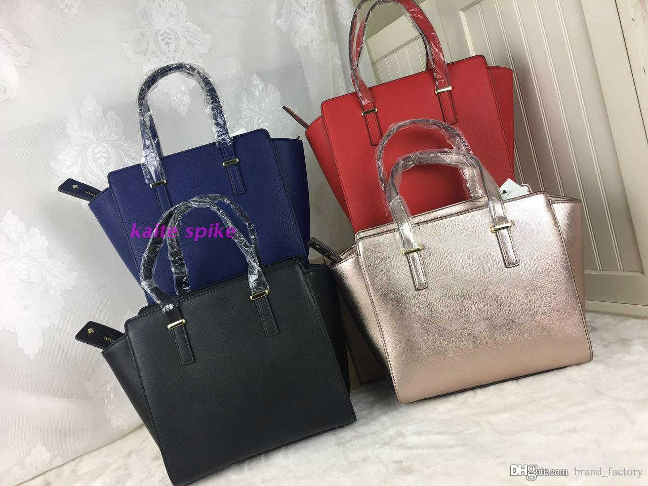 64beb3db57 2017 Luxury Brand Handbags Women Shoulder Bags Fashion Designer Totes  Purses Ladies Leather Bags Female Business Bolsas. Black Handbags Handbags  Wholesale ...
