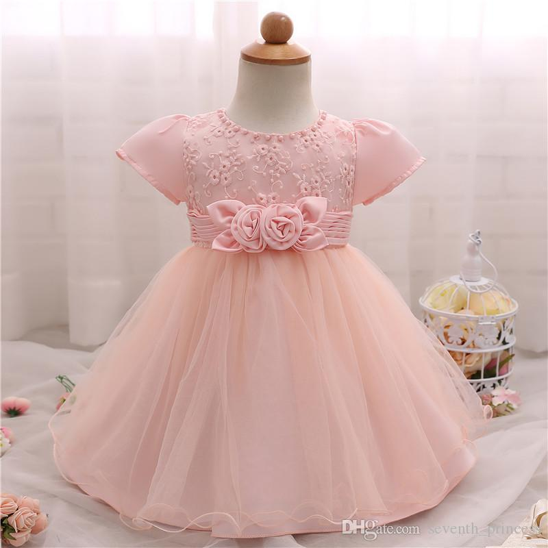 Baby Girl Dress Clothes Wedding Kids Clothing Vestidos Formal Baby